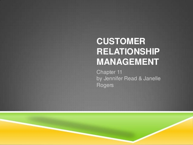 Customer Relationship Management Ed Peelen Pdf